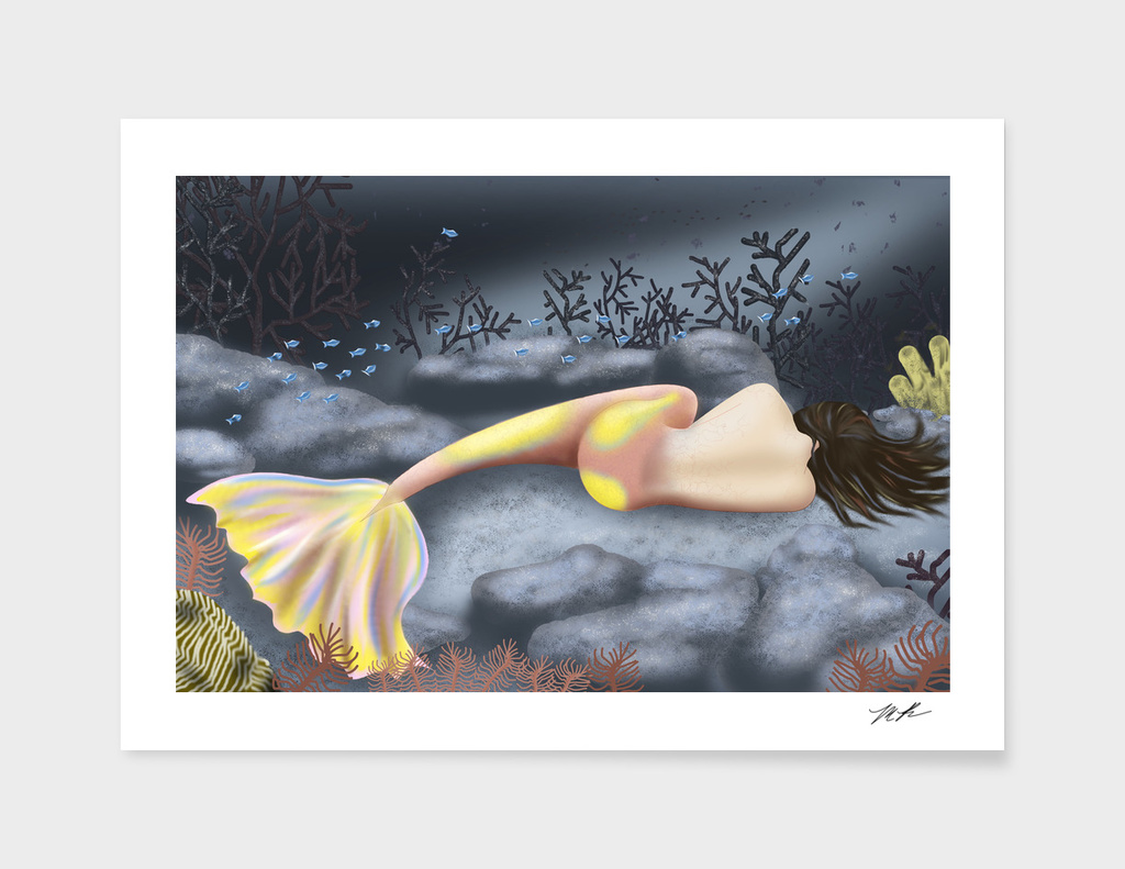 Sleeping Mermaid