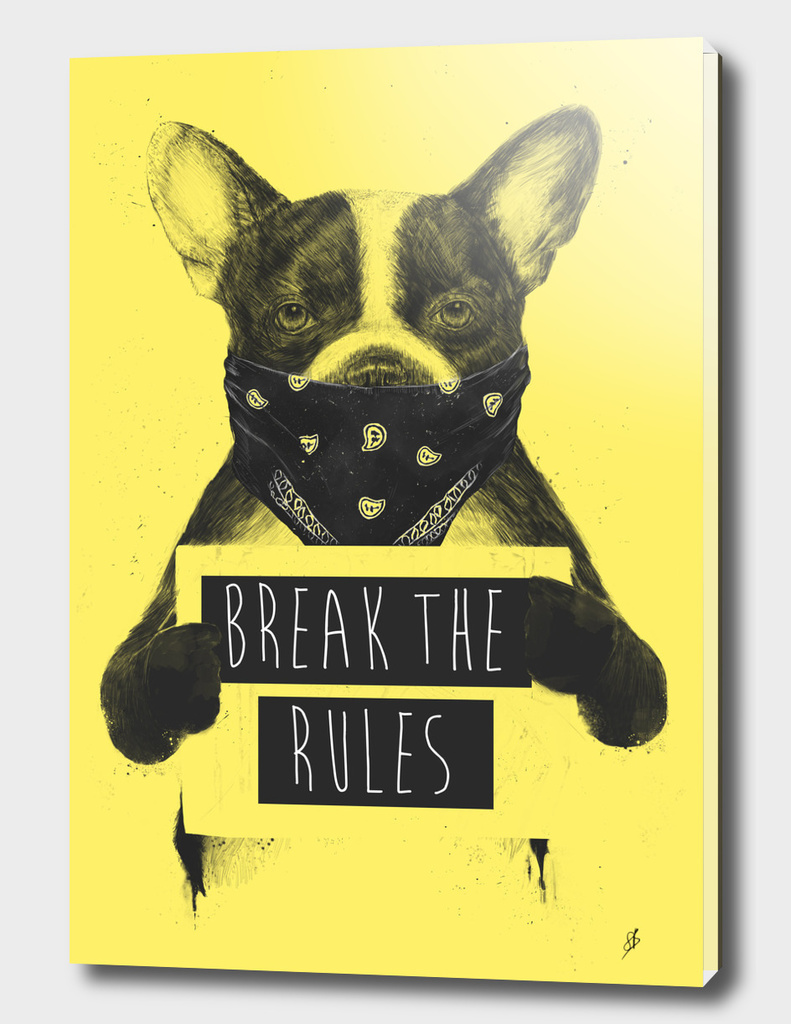 Rebel dog (yellow)