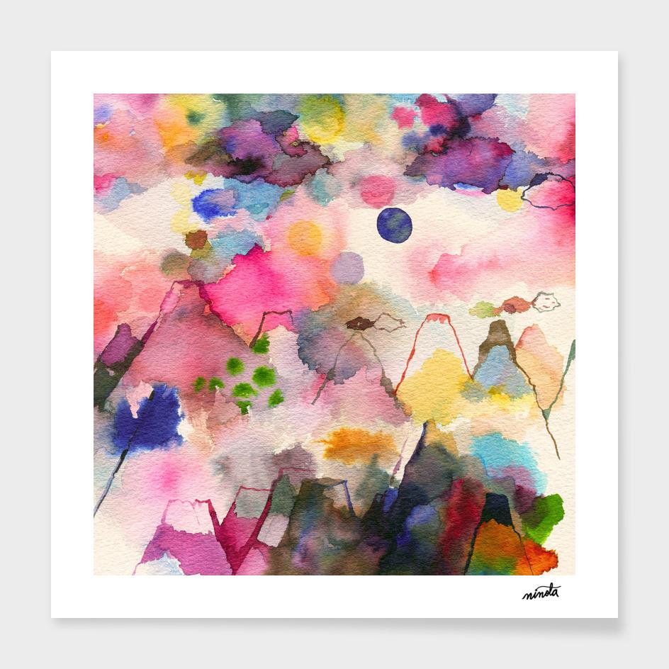 Dreamscape mountains