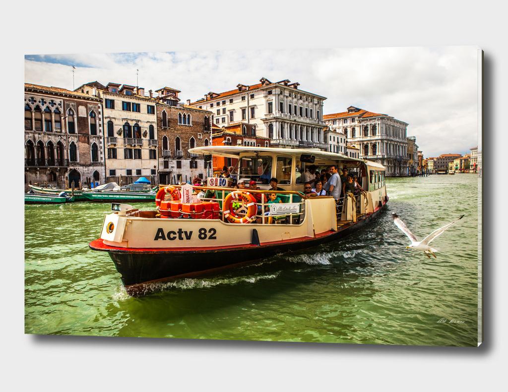 Venetian Vaporetto.