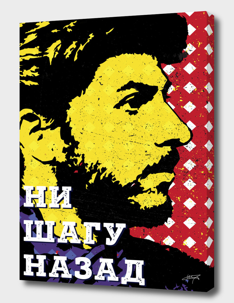 Pop-art young Stalin
