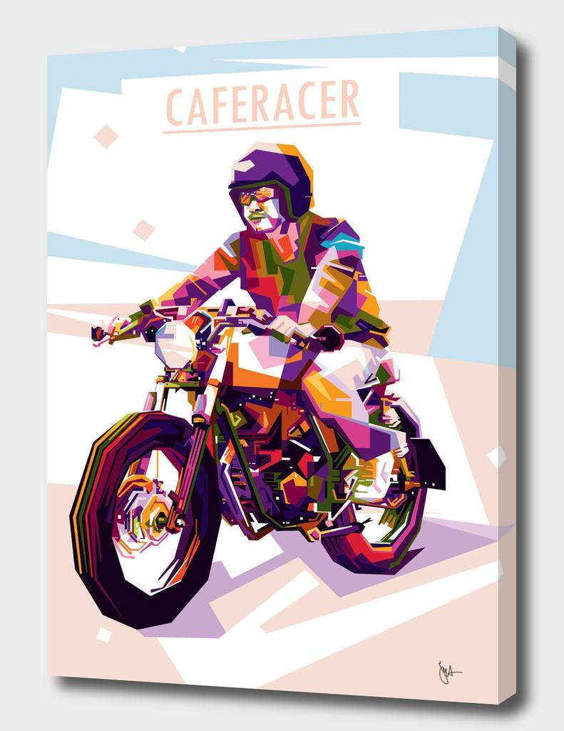 CAFERACER Wpap Art