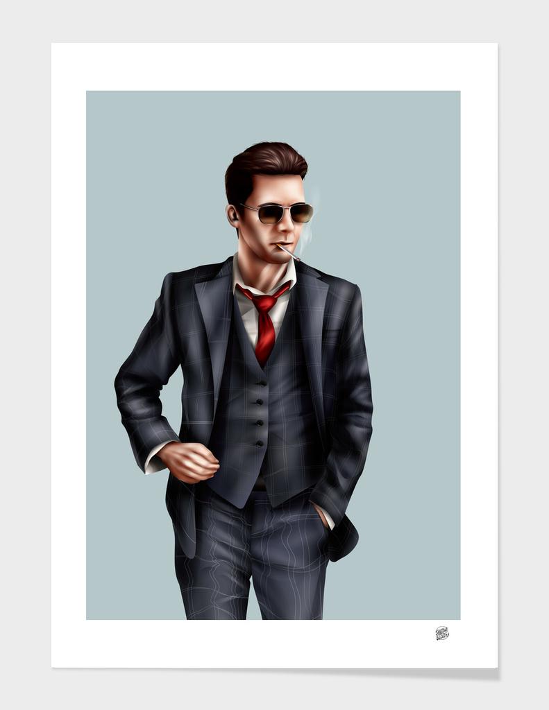 Smoking Suit (Close Up)