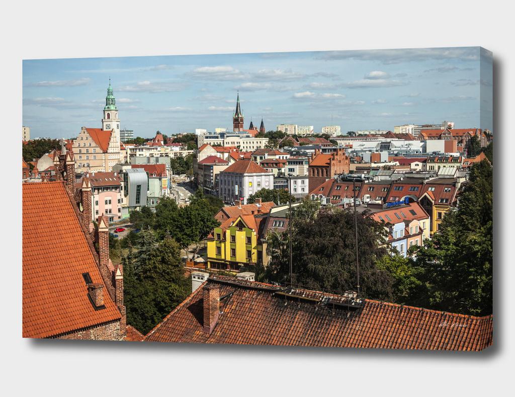 Olsztyn City View. Poland.