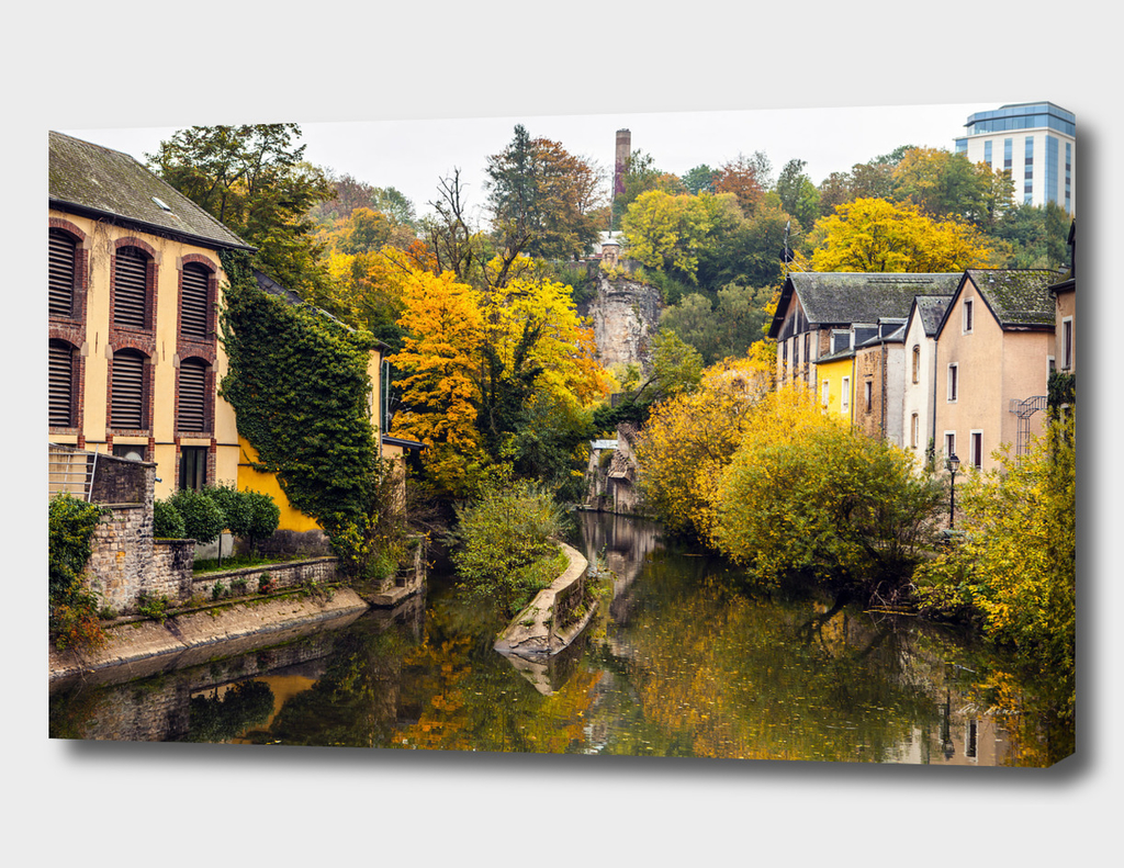 Autumn in Luxembourg.
