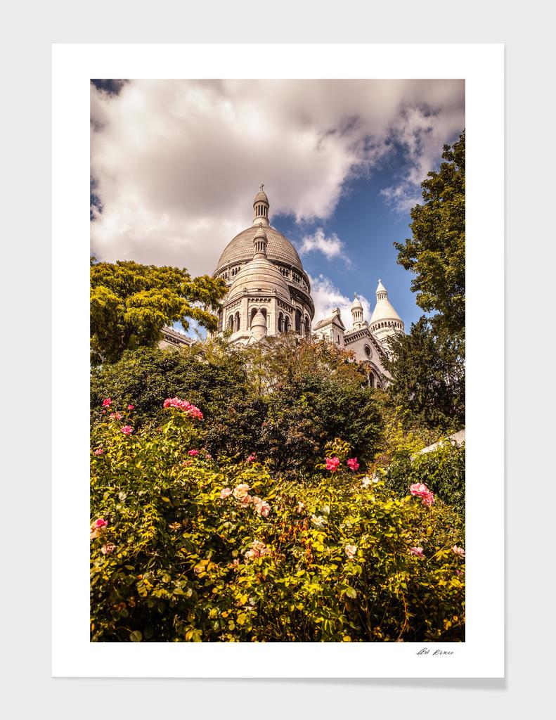 Basilica Sacre Coeur in Montmartre.
