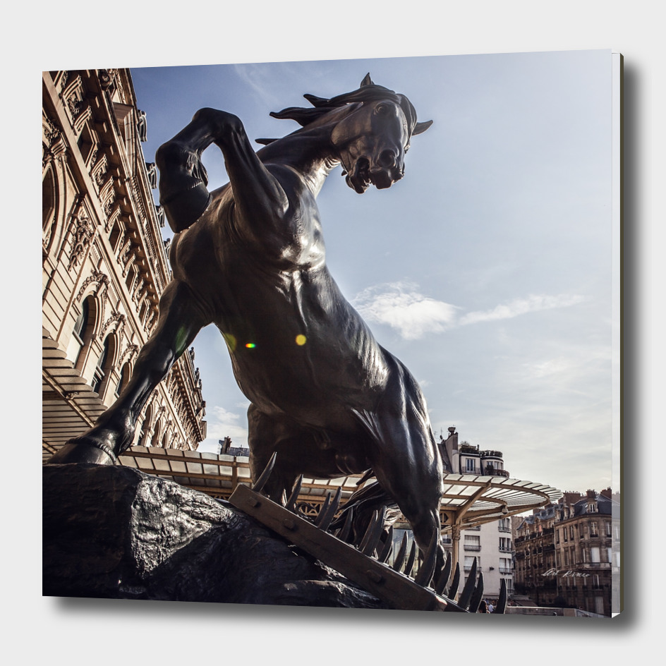 Horse statue. Museum D'Orsay