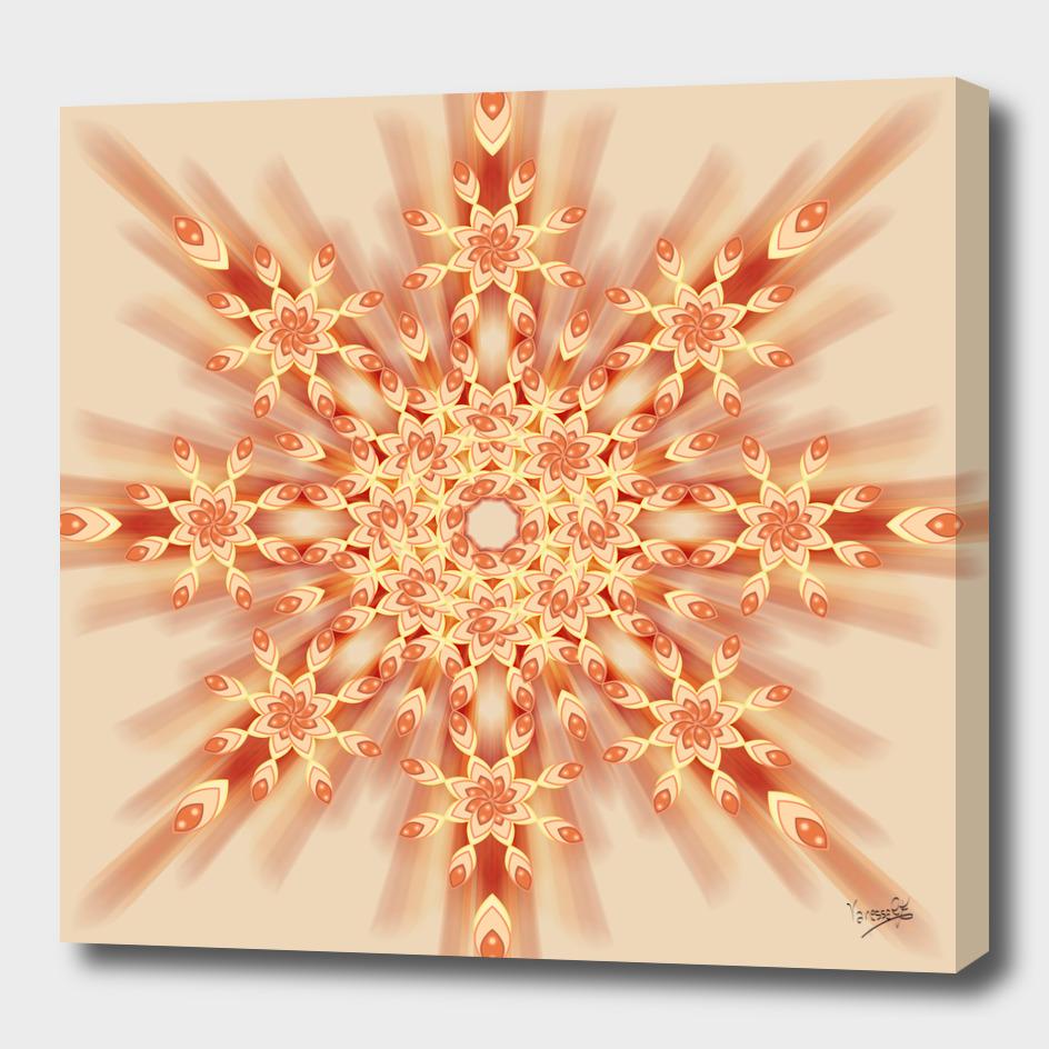 Mandala radial