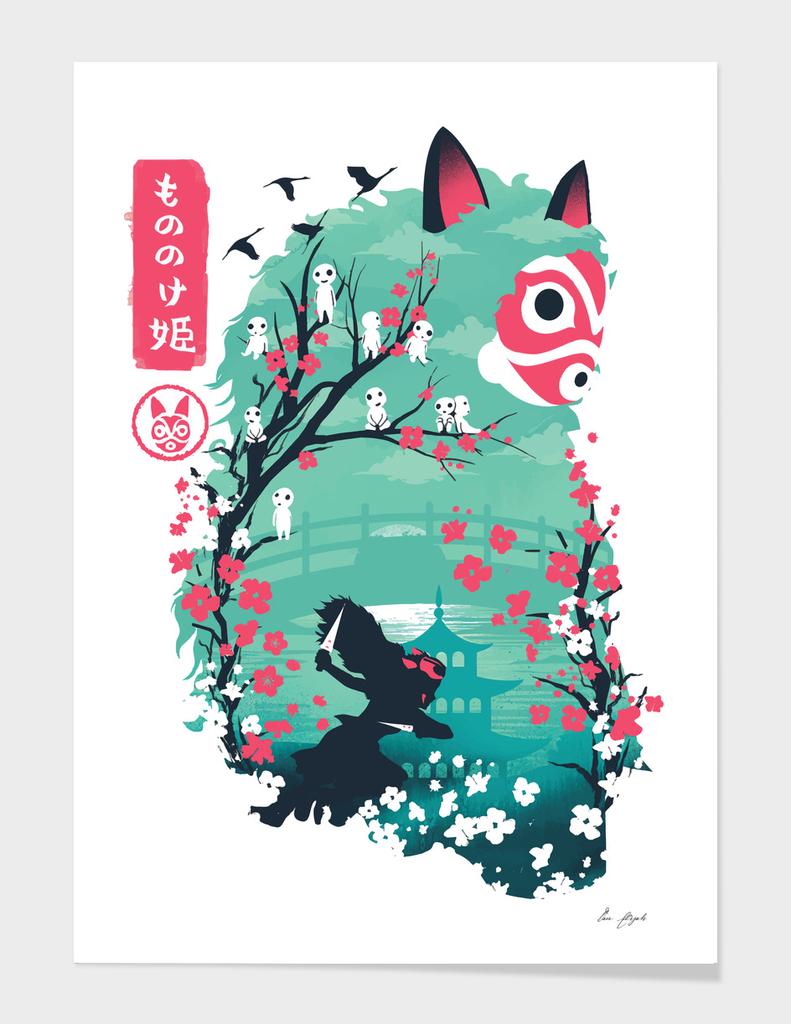 Ukiyo e Princess