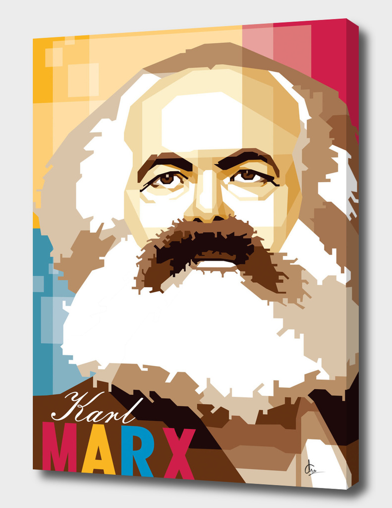 Karl Marx in WPAP SKINTONE