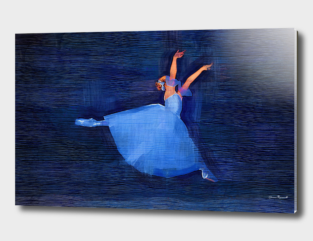 The Blue Ballerina