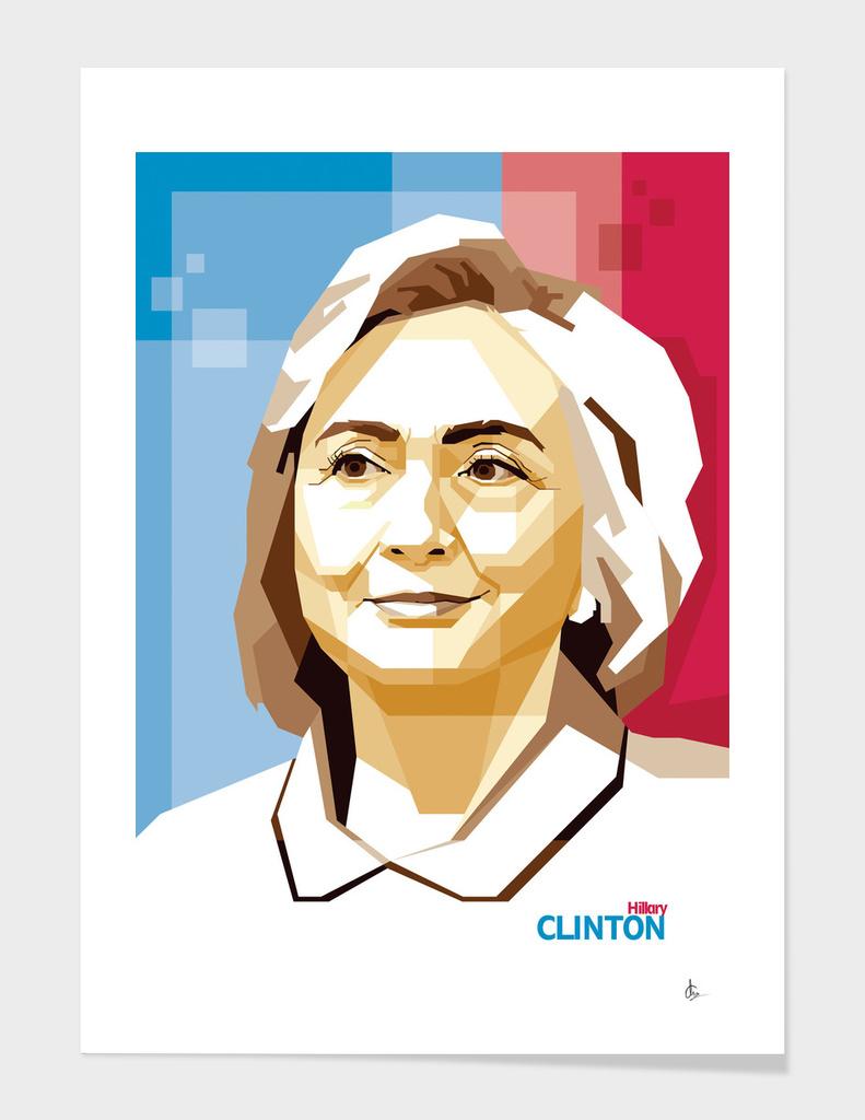 Hillary Clinton in WPAP SKINTONE