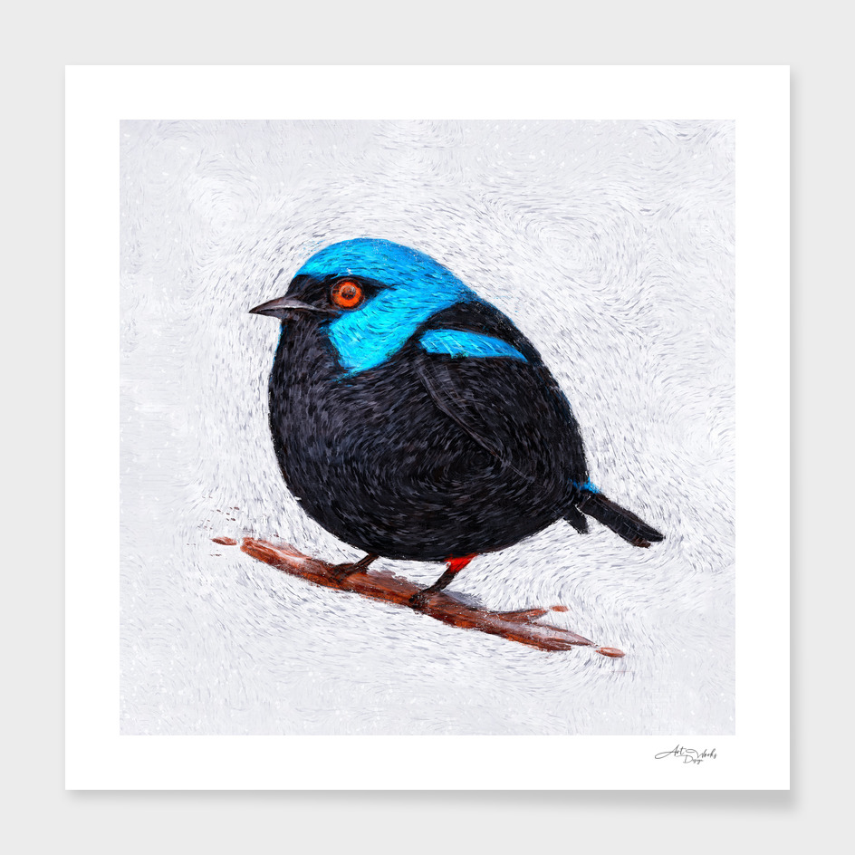 Artistic XLVII - Winter bird / NE