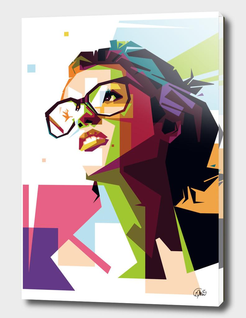 expressive girl