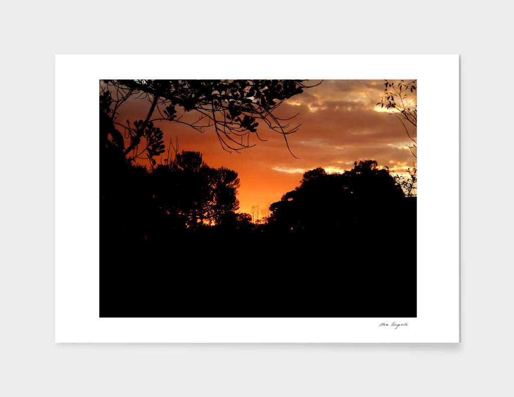 Sunset in Gramado, Brazil