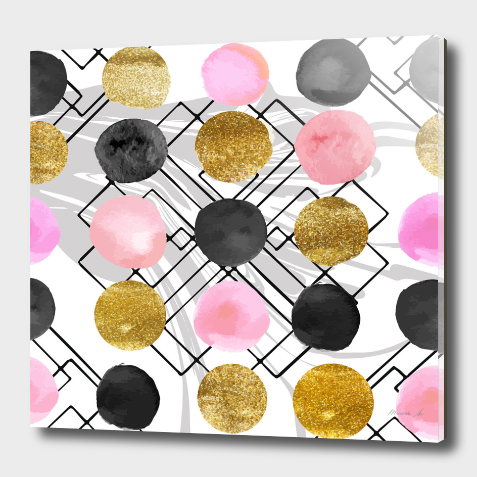 Collage spots texture