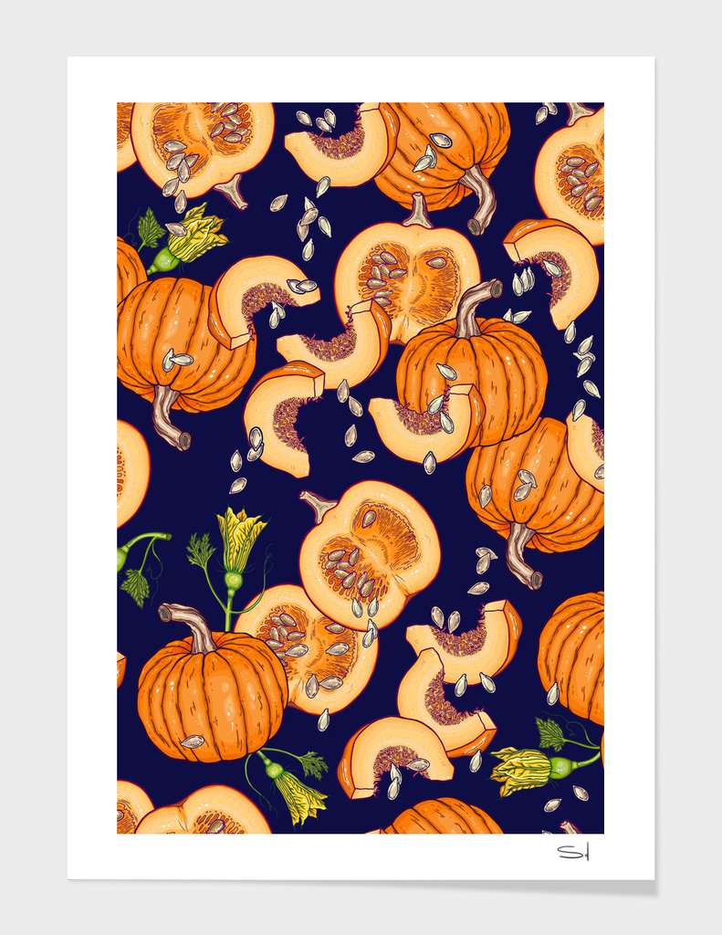 Pumpkin night life