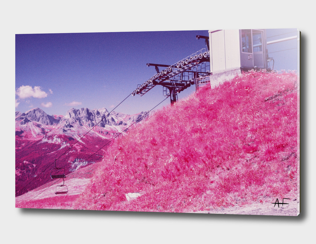 Dolomites in Infrared #4