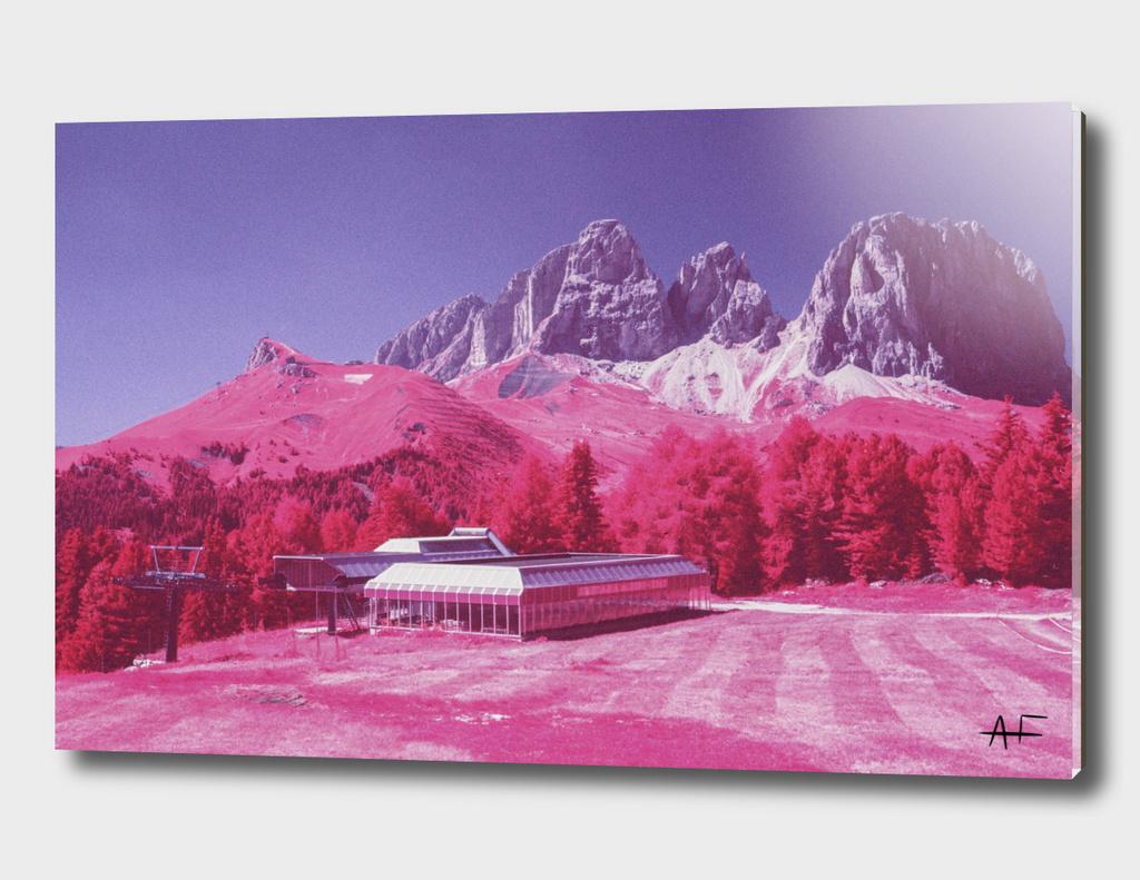 Dolomites in Infrared #7