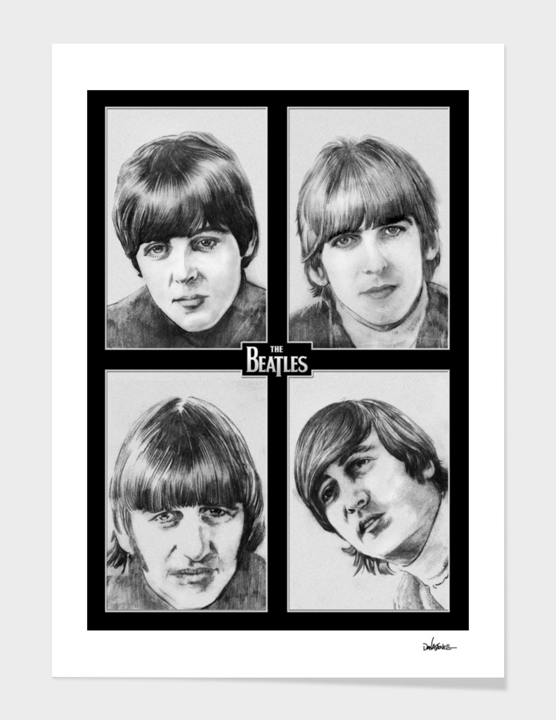 The Beatles In Black & White