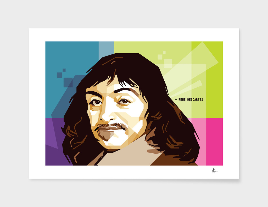 Rene Descartes in WPAP SKINTONE