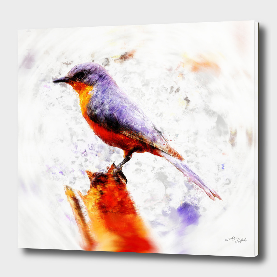 Artistic XLVIII - Winter bird II / NE