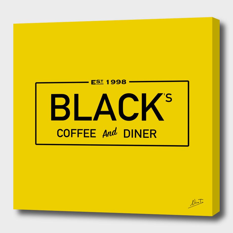 Blacks Coffee Logo