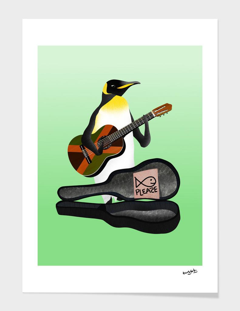 Penguin Busking