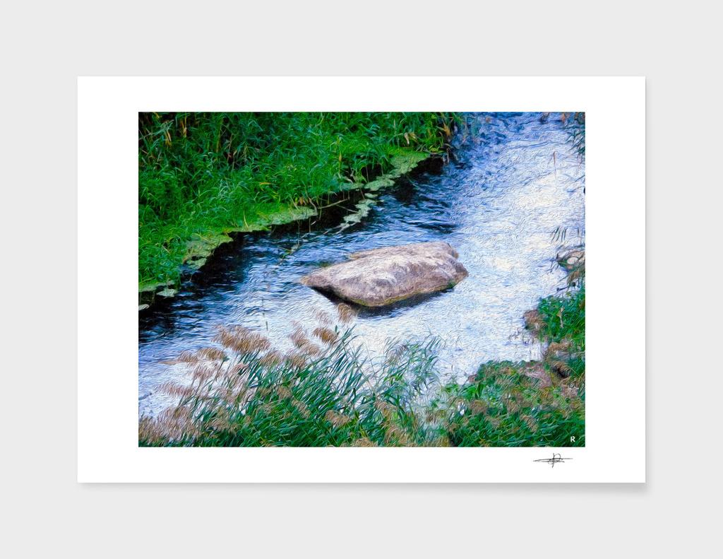 the  river stone