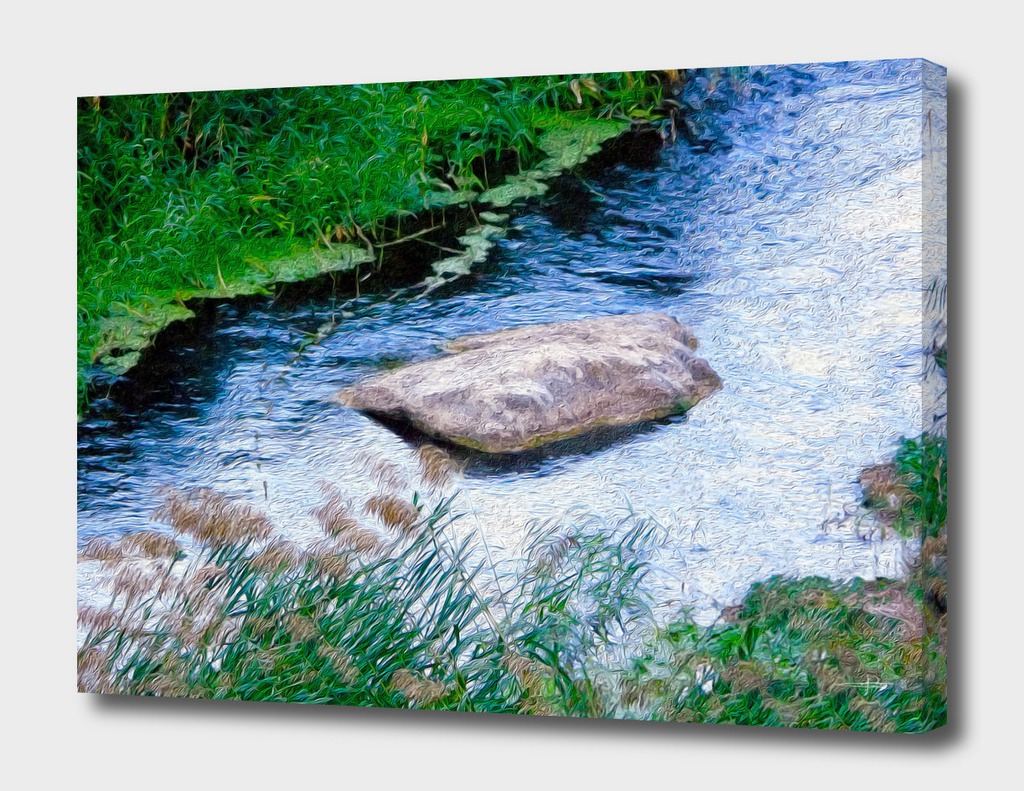 the  river stone