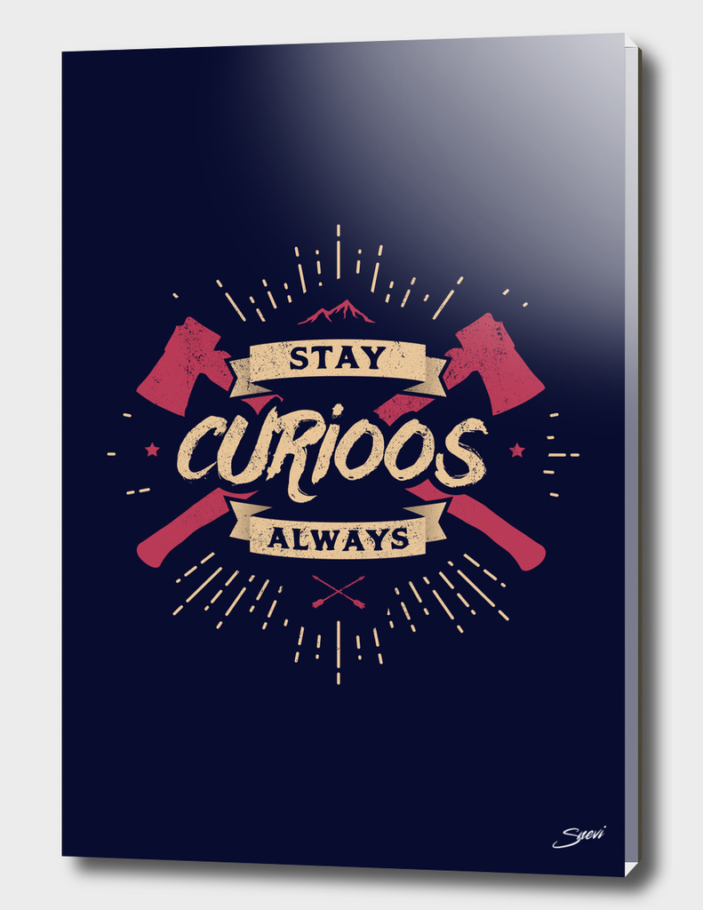 STAY CURIOOS special edition