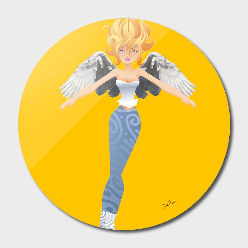 arte Daniel Ramirez 02 angelita