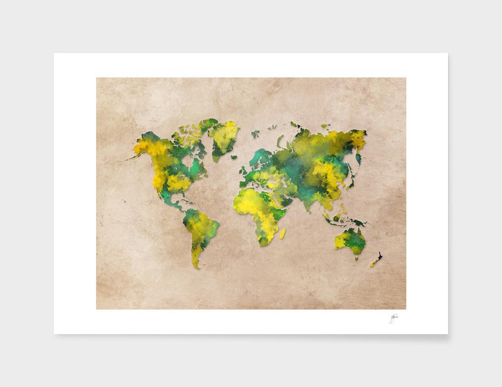 world map 7