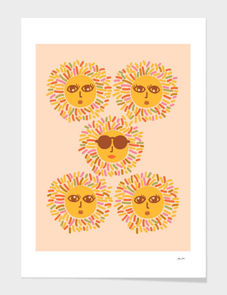 Retro Sunshine Party #positivevibes