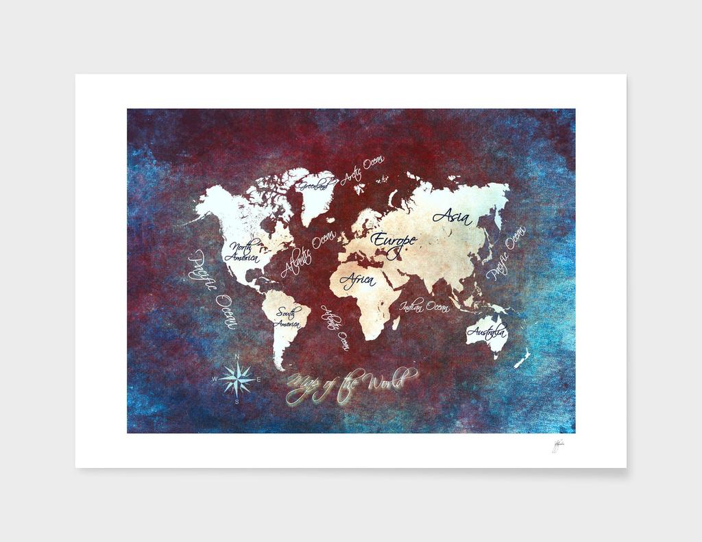 world map 12