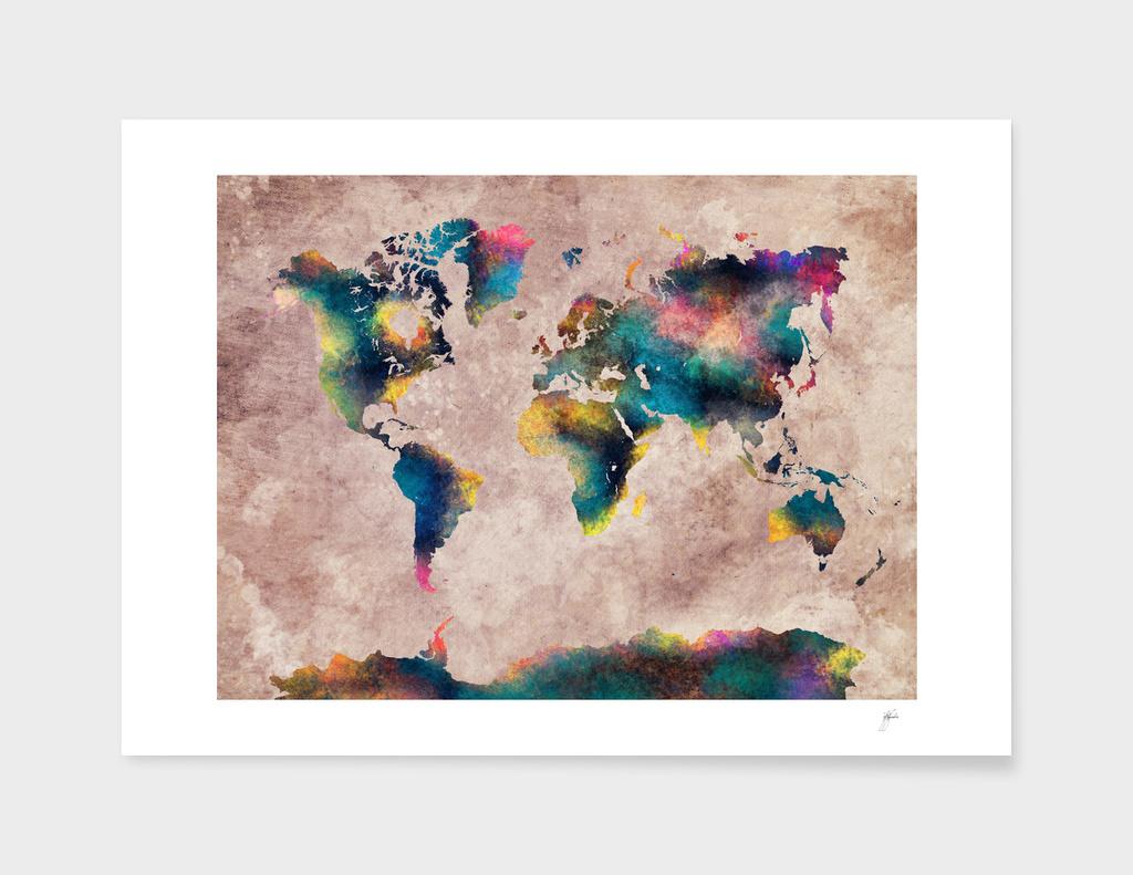 world map 18