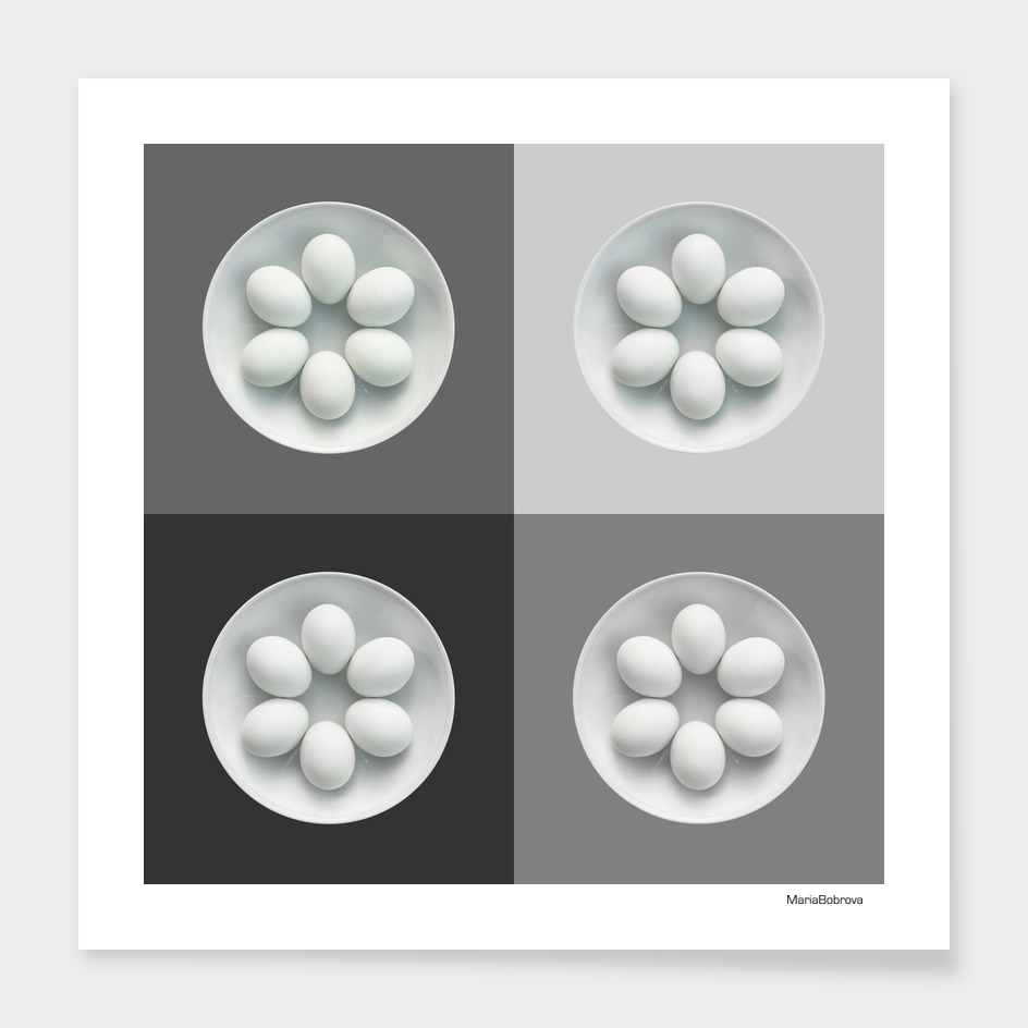 white eggs 12