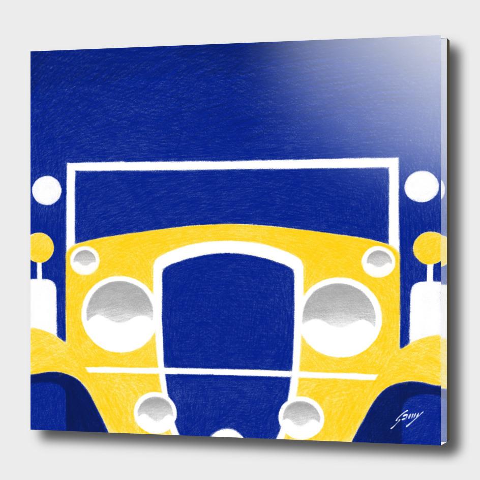 Gatsby's yellow car