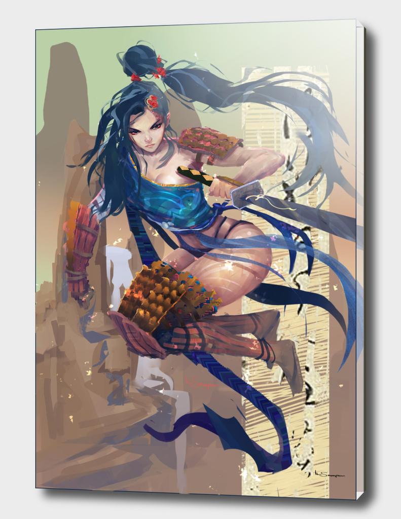 the female samurai