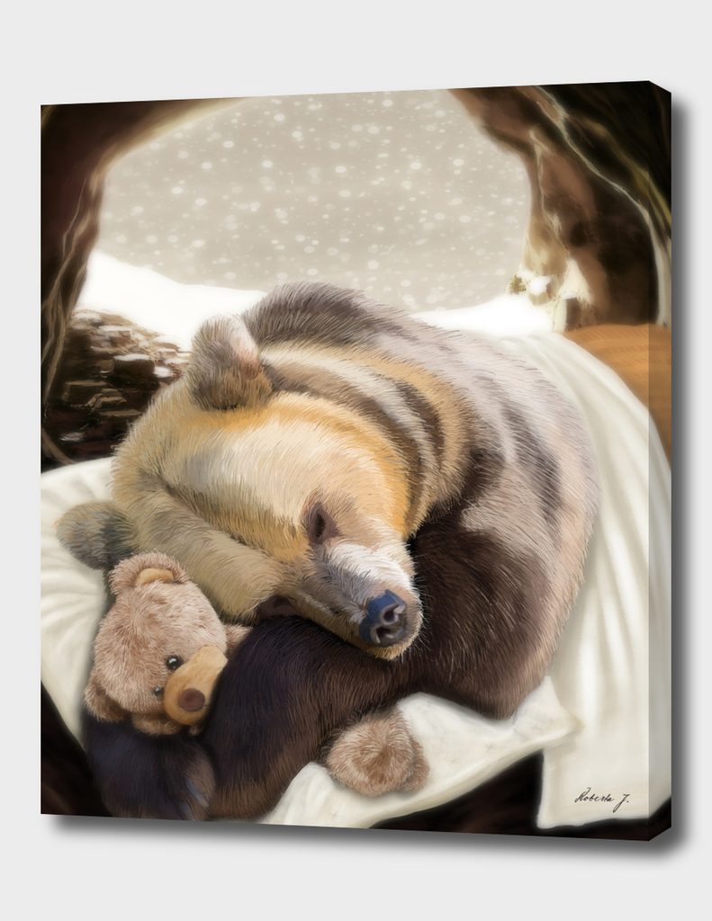 Sweet dreams Mr Bear