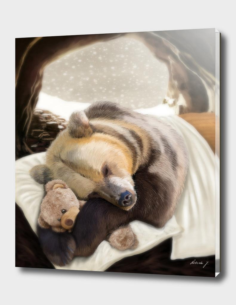Sweet dreams Mr Bear