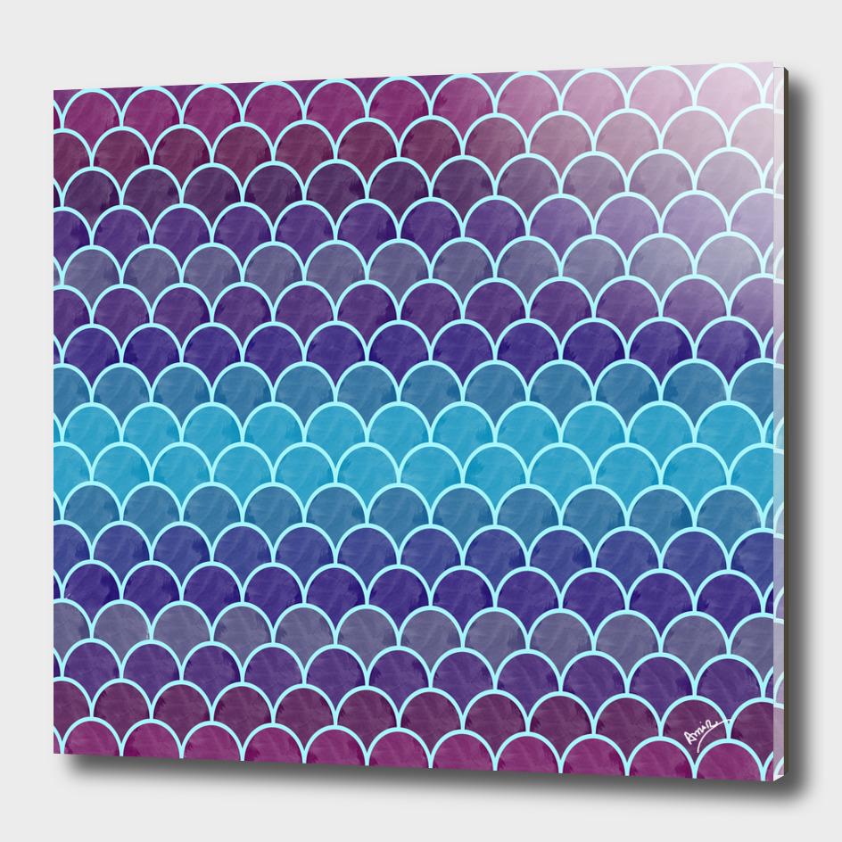 Watercolor Lovely Pattern II