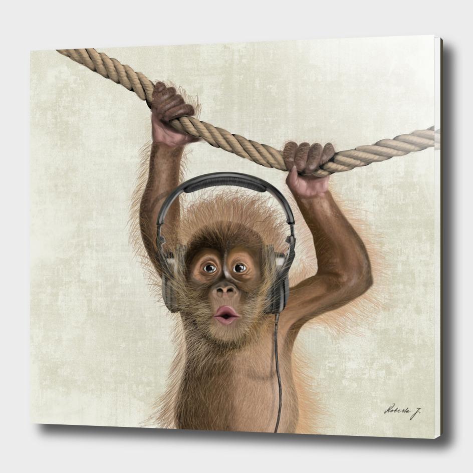 I love Music! Monkey