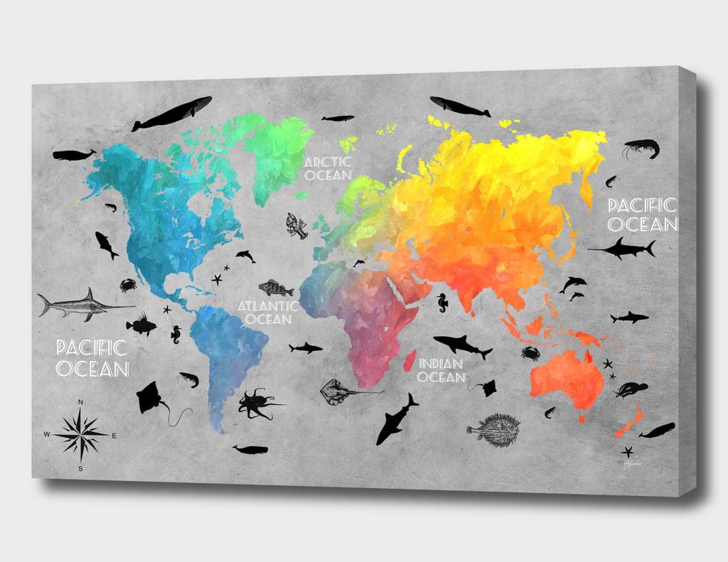world map 21