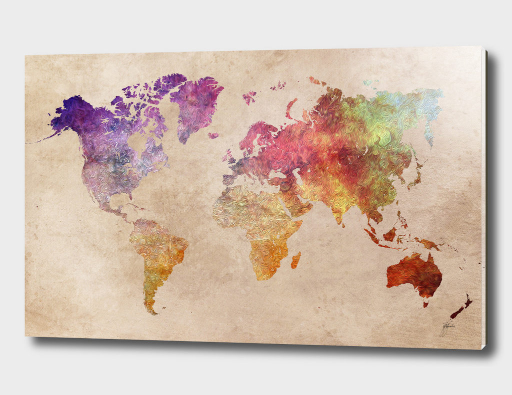 world map 26