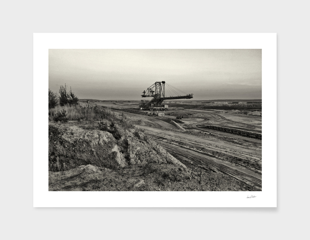 Welzow, Coal Mine Impressions from germany