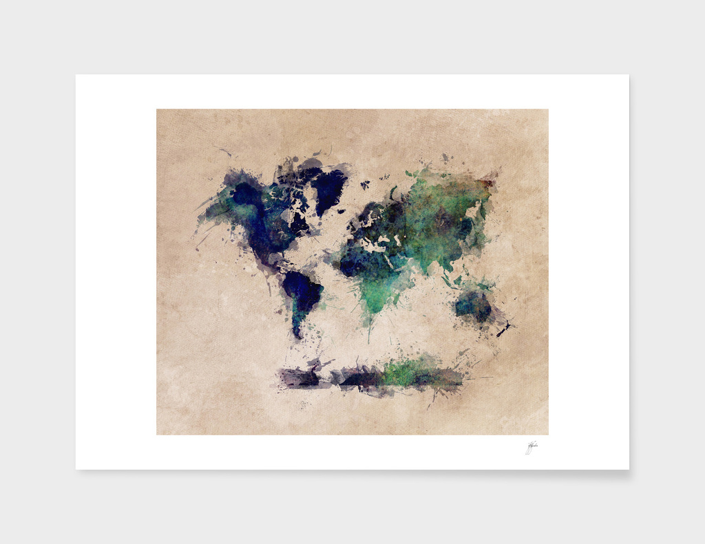 world map 30