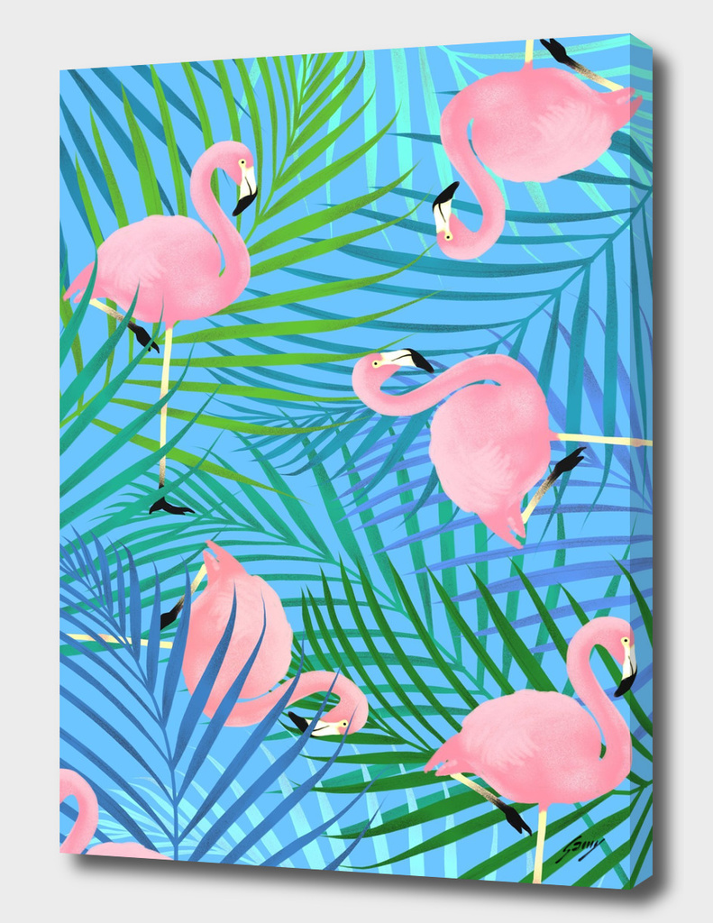 Patterned_Flamingo