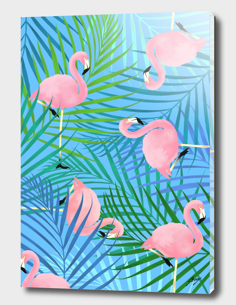 Patterned_Flamingo