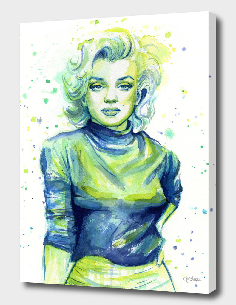 Marilyn Monroe Watercolor